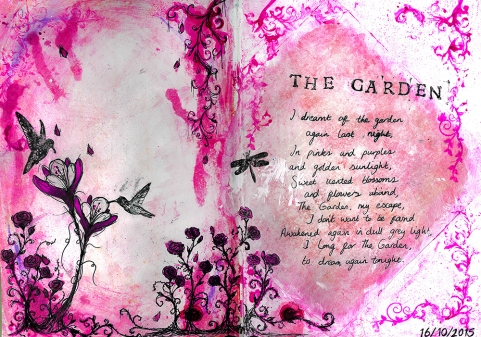 Journal Pages - The Garden