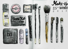 Journal Pages - Make-Up