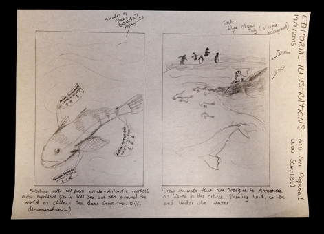 Ross Sea - Sketches-BLOG
