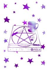 01 - The Magician - Colour-purple